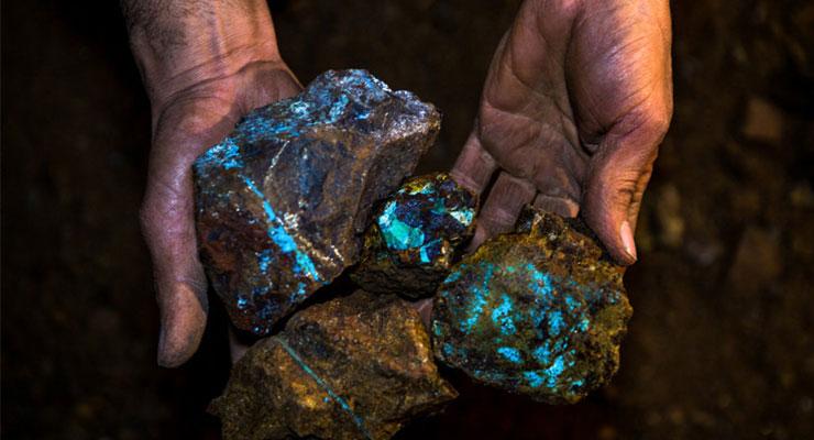 ذخائر معدنی در ايران و موقعيت سنگ های تزئینی