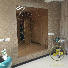 آینه پازلی شکسته